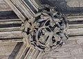 Lincoln Cathedral, Angel Choir N aisle 11th Boss from E. (25738943238).jpg