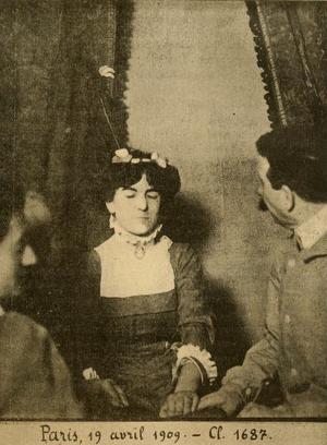Charles Richet - Linda Gazzera a medium Richet investigated, in Paris, 1909.