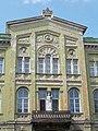 Listed dwelling house ID 3922. Mid part, detail. Romantic, circa 1860. - 5, Vörösmarty Square., Székesfehérvár, Fejér county, Hungary.JPG