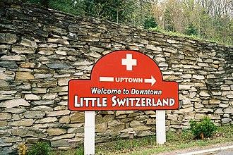 "Little Switzerland, North Carolina - ""Welcome To Downtown Little Switzerland"""