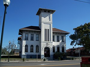 National Register of Historic Places listings in Suwannee County, Florida - Image: Live Oak City Hall 01
