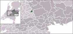 Location of Scherpenzeel