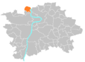 Location map municipal district Prague - Suchdol.PNG