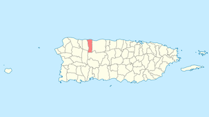 Location of Hatillo in Puerto Rico