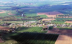 Lochenice from air K2 -1.jpg