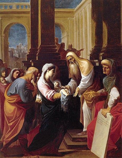 File:Lodovico Carracci - Presentation in the Temple - WGA4472.jpg