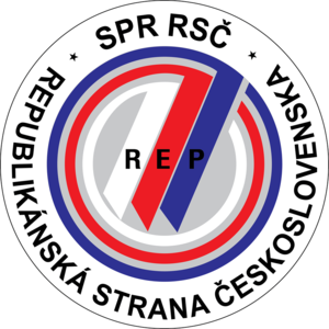 Coalition for Republic – Republican Party of Czechoslovakia - Image: Logosprrsc