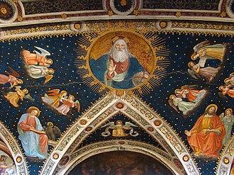 San Maurizio al Monastero Maggiore - Details of the ceiling.