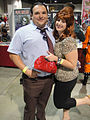 Long Beach Comic & Horror Con 2011 - Al and Peg Bundy from Married with Children (6301708002).jpg