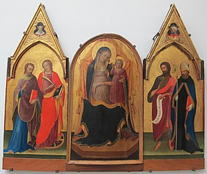 Paolo Schiavo - A Schiavo painting