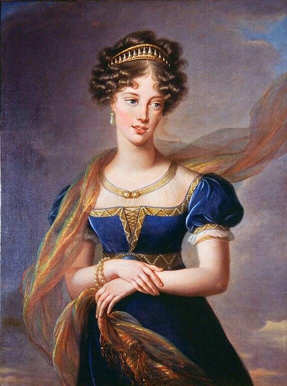 Fichier:Louise-Elisabeth Vigée-Lebrun - La duchesse de Berry en robe de velours  bleu.jpg — Wikipédia