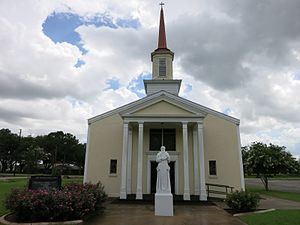 Louise, Texas - Image: Louise TX St Procopius Church