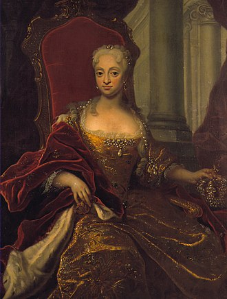 Louise of Mecklenburg-Güstrow - Image: Louisemecklenburgden mark