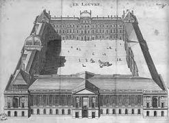 Louvre gravure Scotin 1742.jpg