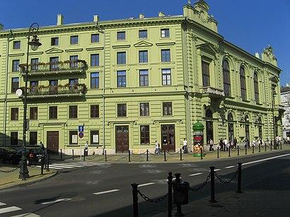 Як дістатися до Teatr Im. Juliusza Osterwy громадським транспортом - про місце