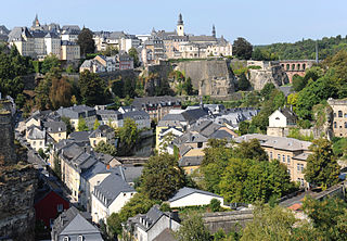 Luxembourg Grund from Verlorenkost - Cayembe/Wikipedia