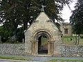 Lych Gate, St Stephen's Church - geograph.org.uk - 1507020.jpg