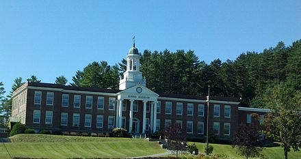 The Lyndon Institute, a high school in Lyndon, Vermont Lyndon Institute.jpg