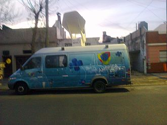 América TV - Truck of América TV