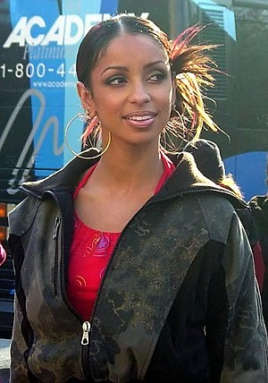 Mýa - Mýa at the 2003 Macy's Thanksgiving Day Parade in New York City