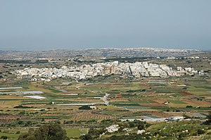 Mġarr - View of Mġarr