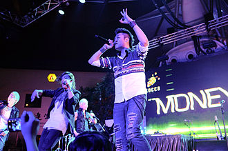 M.I.B (band) - M.I.B performing in Singapore, on July 1, 2011