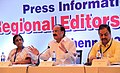 M. Venkaiah Naidu addressing a session on the Urban Development, at the Regional Editors' Conference, organised by the Press Information Bureau, in Chennai.jpg