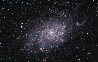Triangulum Galaxy - Image: M33 Triangulum Galaxy