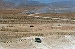 M551s and M113s maneuvering during National Training Center exercise 1987 DA-SC-88-04584.jpg