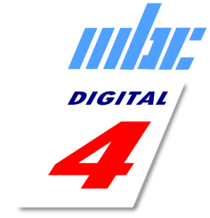 MBC Digital 4 - Logo of MBC Digital 4 used from February 2011 until November 2016