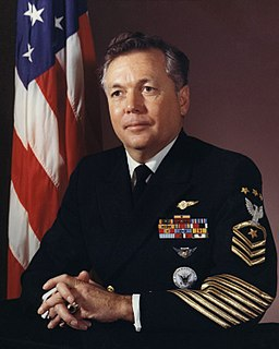 John Whittet Master Chief Petty Officer of the United States Navy