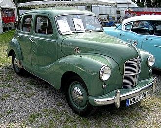 Austin A40 - Image: MHV Austin A40 Devon 1952 01
