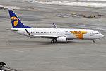 MIAT - Mongolian Airlines, JU-1015, Boeing 737-8SH (25866289805).jpg