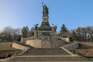 Niederwalddenkmal - The Niederwalddenkmal in 2006