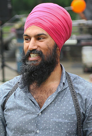 New Democratic Party leadership election, 2017 - Jagmeet Singh