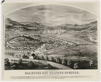 Samuel Brannan - Calistoga Hot Sulphur Springs. Napa Co. California