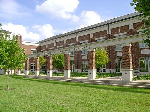 MTSU Paul W Martin Honors Building