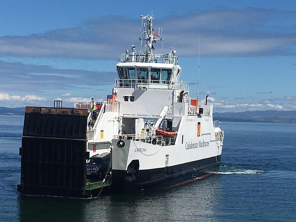 MV Catriona at Lochranza