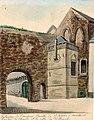 Maastricht, St-Servaasklooster, steunbogen & proosdij (Ph v Gulpen, 1849).jpg