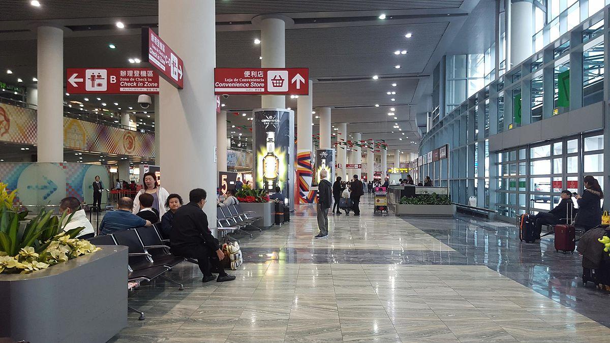 Aeroporto Internacional De Macau : Aeroporto internacional de macau wikipédia a