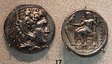 Makedonya, dinastia degli antigonidi, tetradracma di filippo III, 323-316 ac ca.JPG