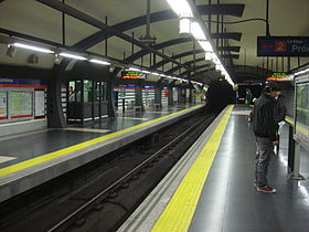 image illustrative de l'article Cuatro Caminos (métro de Madrid)
