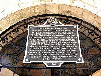 Magellan's Cross - Entrance