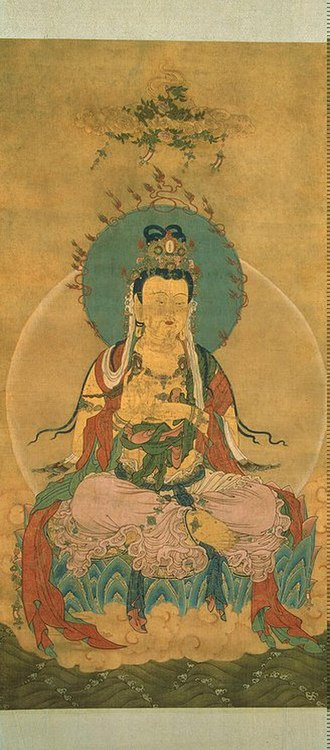 Mahasthamaprapta - Image: Mahasthamaprapta