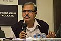 Mahidas Bhattacharya - Press Conference - Bengali Wikipedia 10th Anniversary Celebration - Kolkata 2015-01-02 2238.JPG