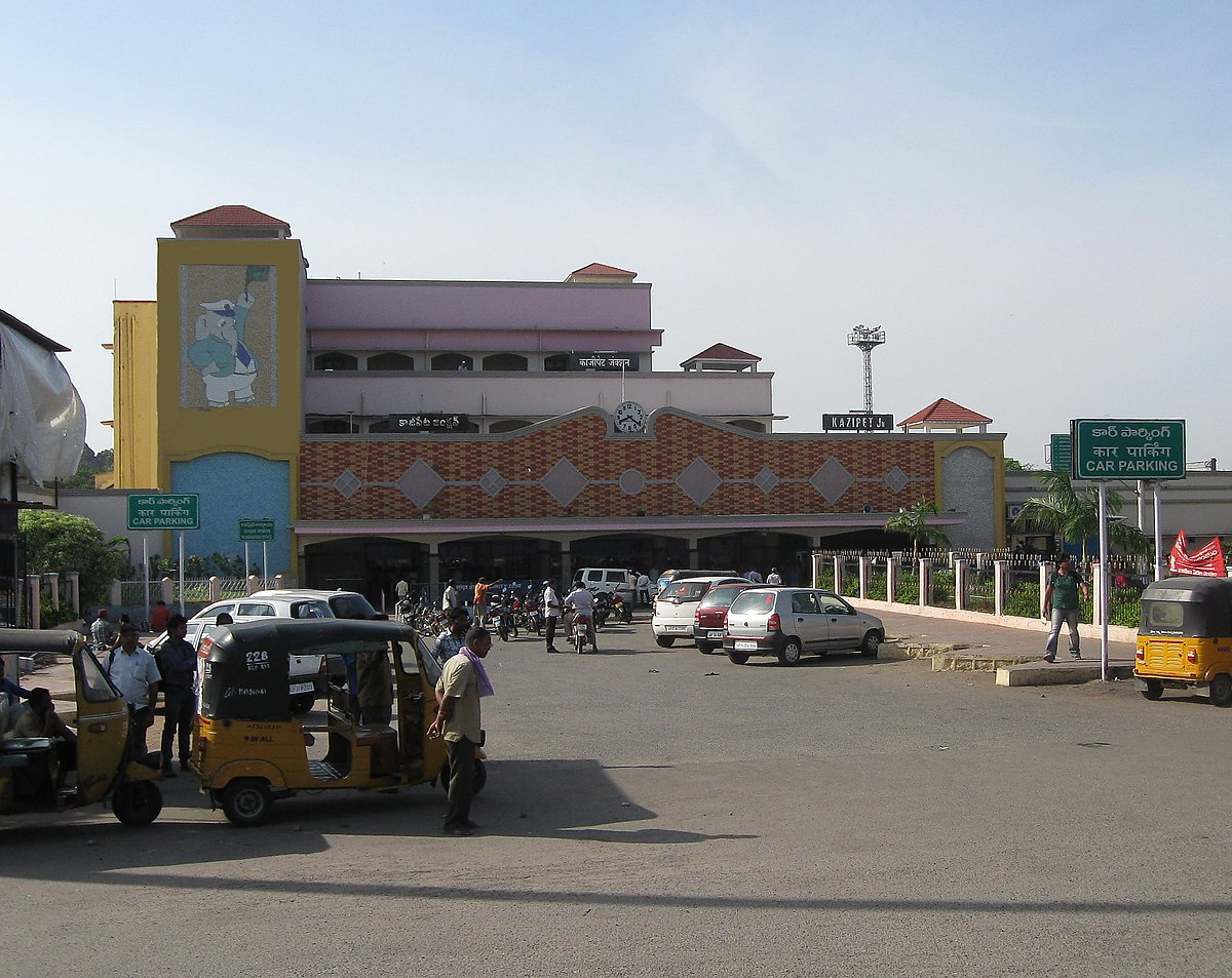 kazipet junction railway station