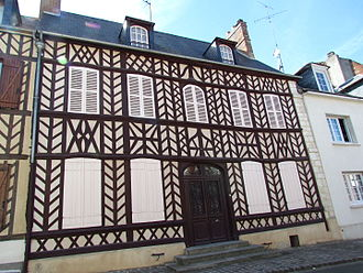 Hippolyte Bayard - The home where Hippolyte Bayard was born (Maison d'Hippolyte Bayard) at 4 Bayard place in Breteuil