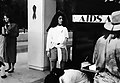 Making an AIDS memorial quilt panel on behalf of Associated Students, Inc. (ASI) Fresno State 1994 (Much cleaner scans forthcoming!) (23218185330).jpg
