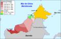 Malàisia - Colonizacion dau nòrd de Bornèo.png