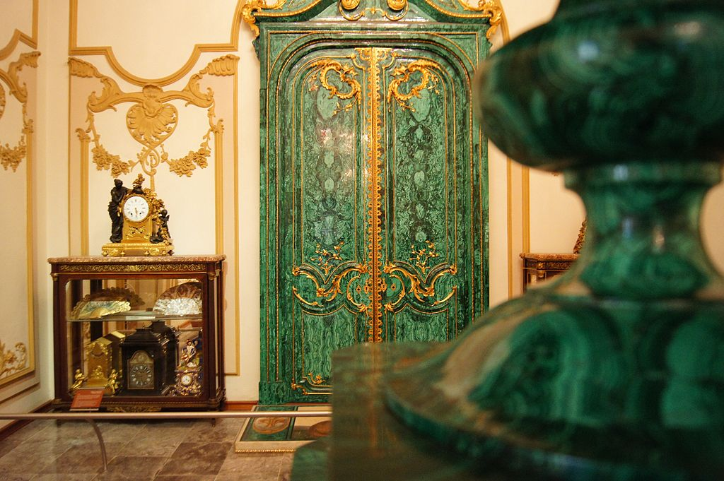Malachite Room, Castillo de Chapultepec